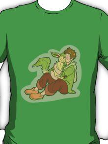 PokeFree! (Makoto and Leafeon) T-Shirt