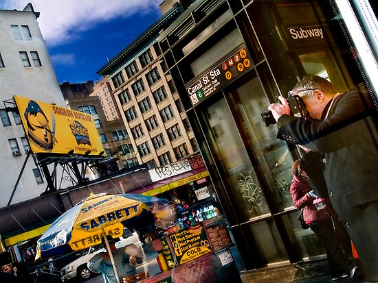 You Cannot Stop A New York Minute!!! by Daniel  Rarela