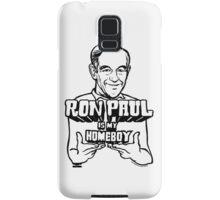 Ron Paul Is My Homeboy Samsung Galaxy Case/Skin