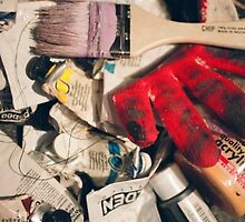 Art supplies by originalprint