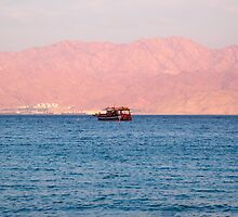 Blue Red sea	 by Efi Keren