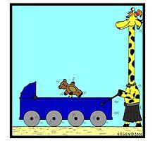 Giraffe Pram by Hagen