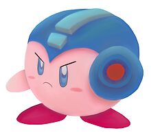 Kirby Megaman buster by oshio