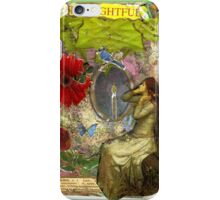 Thoughtful Vanity.. iPhone Case/Skin