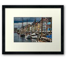 Copenhagen Canal Framed Print