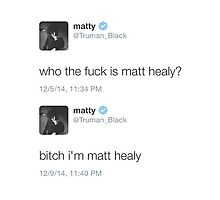 Matty Healy Tweets by the1975x