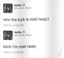 Matty Healy Tweets Poster