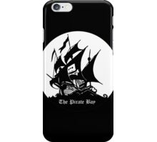 Pirate Bay Circle iPhone Case/Skin