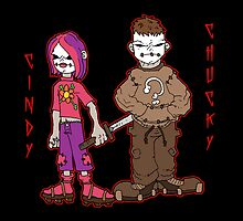chucky and cindy by kangarookid