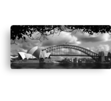 Two Icons - Sydney Harbour Bridge Canvas Print