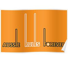GWS Giants - Aussie Rules Forever Poster