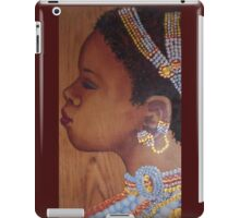 African Bride iPad Case/Skin