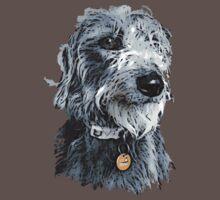 Cute stylized scruffy pup by rayemond