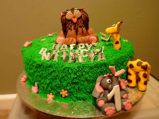 1st Birthday Jungle Cake - By Haydene - NZ by AndreaEL