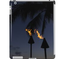 Just After Sunset, the Beach Party is Starting... iPad Case/Skin