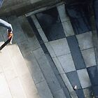 Skater in Cologne 2004 by Adam Irving