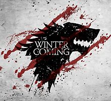 Game Of Thrones Stark by aleha