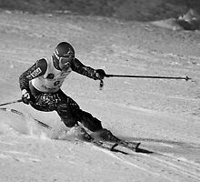 Morzine Skier by WillOakley