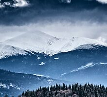 The highest mountain of Ukraine - Goverla by Serhii Simonov