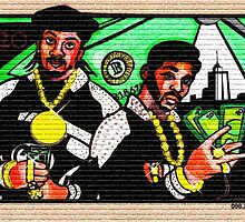 "ERIC B. & RAKIM ""PAID IN FULL"" COVER 2 by S DOT SLAUGHTER"