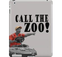 CALL THE ZOO! iPad Case/Skin