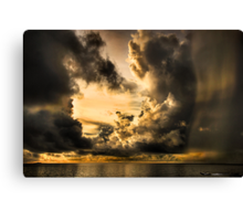 Stormy Dawn Canvas Print