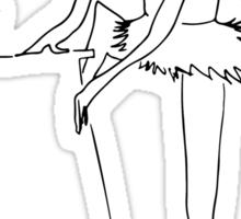 the other Ballerina Sticker