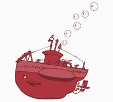 little red submarine by johnkratovil