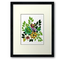 Flower print Framed Print