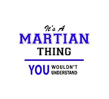 It's a MARTIAN thing, you wouldn't understand !! by thestarmaker