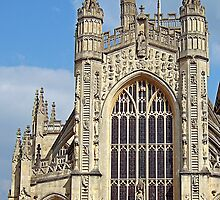 bath abbey by cynthiab