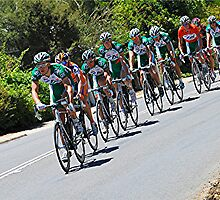 In for the Long Haul-Tour Down Under SA 2008 by Michael Tapping