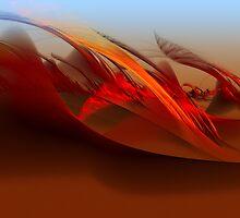 Desert Wind by Leoni Mullett
