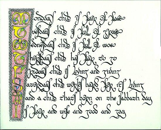 Nursery Rhyme by Thorfinn