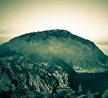 Misty Mountain Top by Colin Tobin