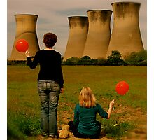 From the red balloon diaries Photographic Print