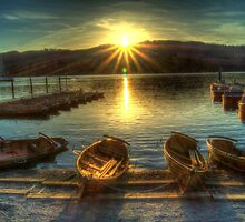 Windermere Sunset by Stephen Hall
