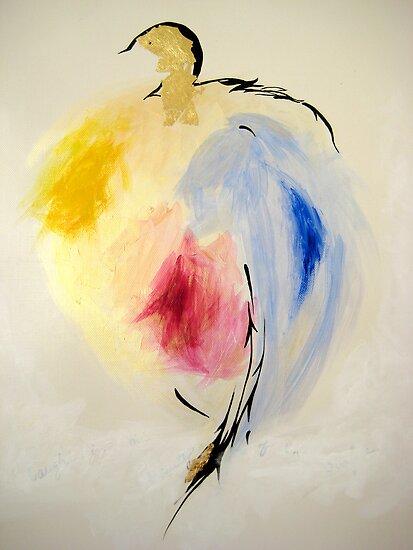 Golden Head Birdie by Vanpinni
