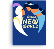 A Whole New World Canvas Print