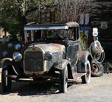 TRusty Ford by coffeebean