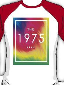 The 1975 — White Logo on Rainbow  T-Shirt