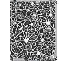 Tangled Up in Bikes 3 - Grey iPad Case/Skin