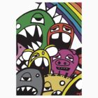 Monster Rainbow (colour variation) by edzemo