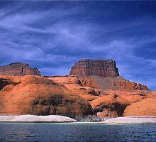 Lake Powell Utah by Steve  Taylor