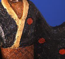 Geisha Figurine by Paul Reay
