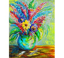 Spring in a Vase Photographic Print