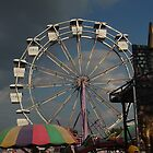 Carousel in Chicago by Kadava