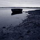 Lone Boat by Tez Watson