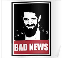 OBEY Collection - bad news barrett Poster