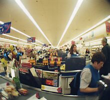 Supermarket in Wakefield, 1997 by Adam Irving